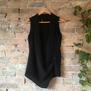 Mexx Black Draping Tunic